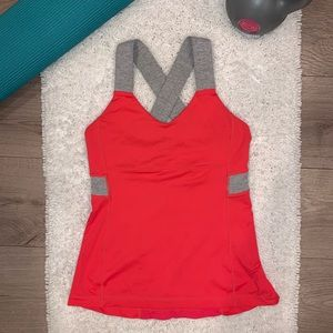 Lululemon Push Your Limits Passion/Wee Tank